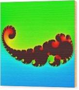 Fractal Trilobite Animal Wood Print