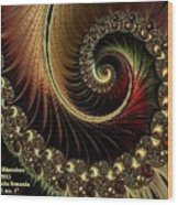 Fractalia Irmania Catus 1 No. 1 H A Wood Print