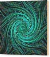 Fractalia Seastaria Catus 1 No. 3 H A Wood Print