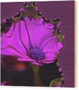 Fractual Flower  Wood Print