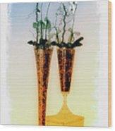 Fragile In Carthusia Wood Print