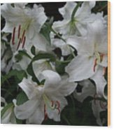 Fragrant Beauties Wood Print