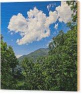 Frame Me A Cloud Wood Print