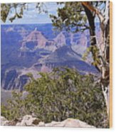 Framed View - Grand Canyon Wood Print