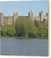 Framlingham Castle Wood Print