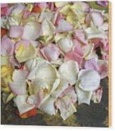 France Flower Petals, Still-life Wood Print
