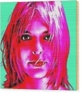 France Gall Wood Print