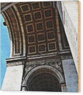 France Triumph Monument Wood Print
