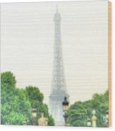 France Wood Print