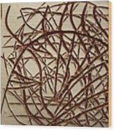 Frances - Tile Wood Print