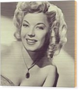 Frances Langford, Vintage Actress Wood Print