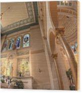 Franciscan Monastery Iv Wood Print