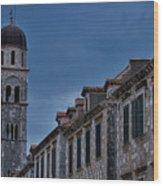 Franciscan Monastery Tower - Dubrovnik Wood Print