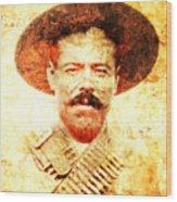 Francisco Villa Wood Print