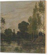 Francois Daubigny   Alders Wood Print