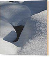 Franconia Brook - White Mountains New Hampshire  Wood Print
