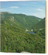 Franconia Notch Wood Print