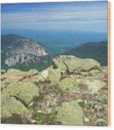 Franconia Notch From Mount Lafayette Wood Print