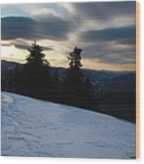 Franconia Notch State Park - Lincoln New Hampshire Usa Wood Print