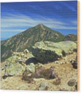 Franconia Ridge And Mount Lafayette Alpine Wood Print