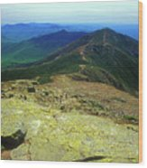 Franconia Ridge Trail Wood Print