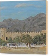 Frangokastello Castle - Southern Crete Wood Print