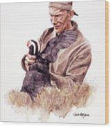 Frank Beebe Wood Print