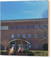 Frank Family Science Center At Guilford College Wood Print