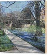 Frank Lloyd Wright Studio Wood Print