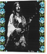 Frank Marino Of Mahogany Rush 4-14-78 Wood Print