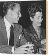 Frank Sinatra And Nancy Wood Print