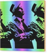 Frank Sinatra Art Wood Print