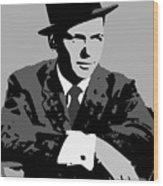 Frank Sinatra Wood Print