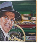 Frank Sinatra - The Capitol Years Wood Print