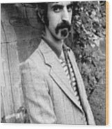 Frank Zappa 1970 Wood Print by Chris Walter