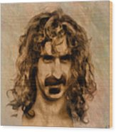 Frank Zappa Collection - 1 Wood Print