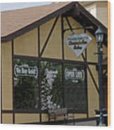 Frankenmuth Diamond And Gem Gallery Wood Print