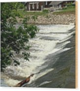 Frankenmuth Lager Mill II Wood Print