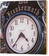 Frankenmuth Time Wood Print