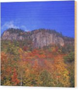 Frankenstein Cliffs Crawford Notch Wood Print