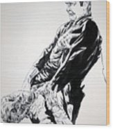 Frankenstein Vs. The Wolfman Wood Print