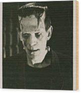 Frankensteins Monster Boris Karloff Wood Print
