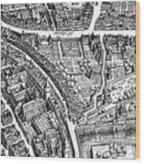 Frankfurt Am Main, 1628 Wood Print
