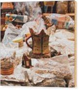 Frankincense And Myrrh Wood Print