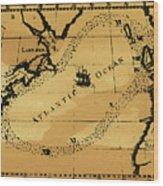 Franklin Chart, 1786 Wood Print