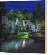 Franklin Delano Roosevelt Memorial Wood Print