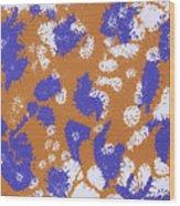 Frantic Delirium - Original Wood Print