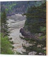 Fraser River British Columbia Wood Print