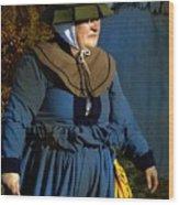 Frau Kitzler Goes Hunting Wood Print