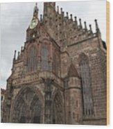 Frauenkirche - Nuremberg Wood Print